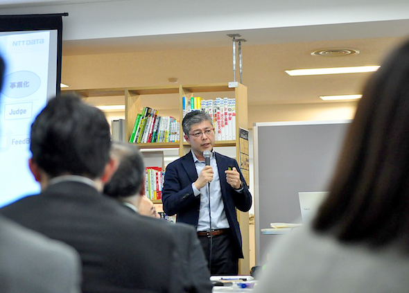 NTTデータ・角谷恭一氏